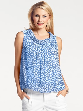 Ashley Brooke Blusentop - blau