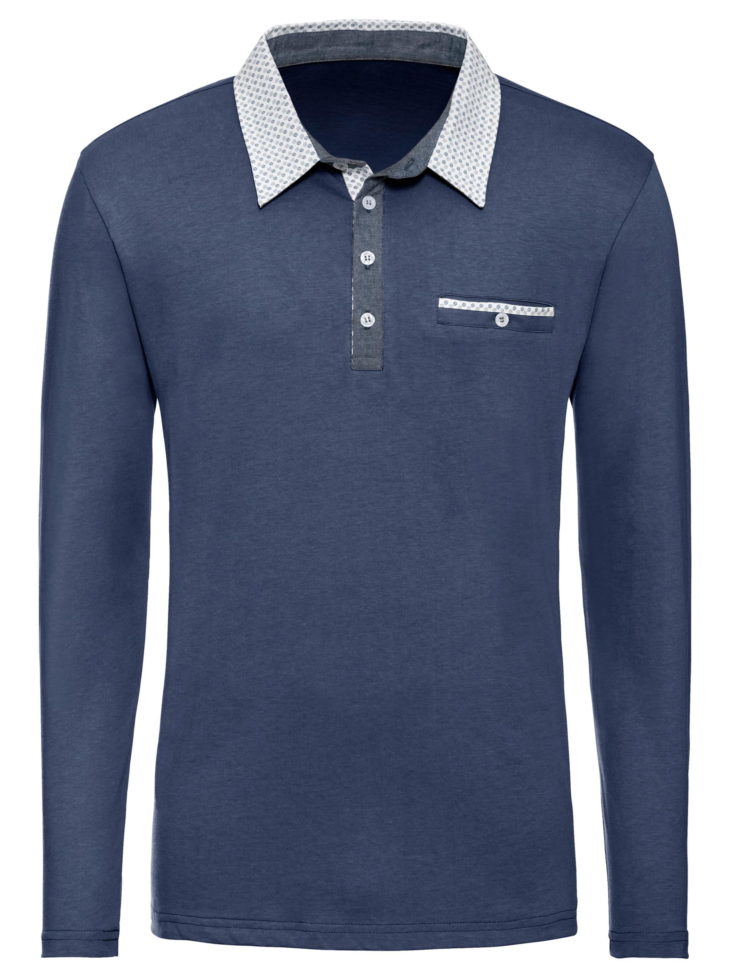 witt weiden - Herren Langarm-Shirt blau
