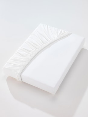 Estella Spannbetttuch - weiß