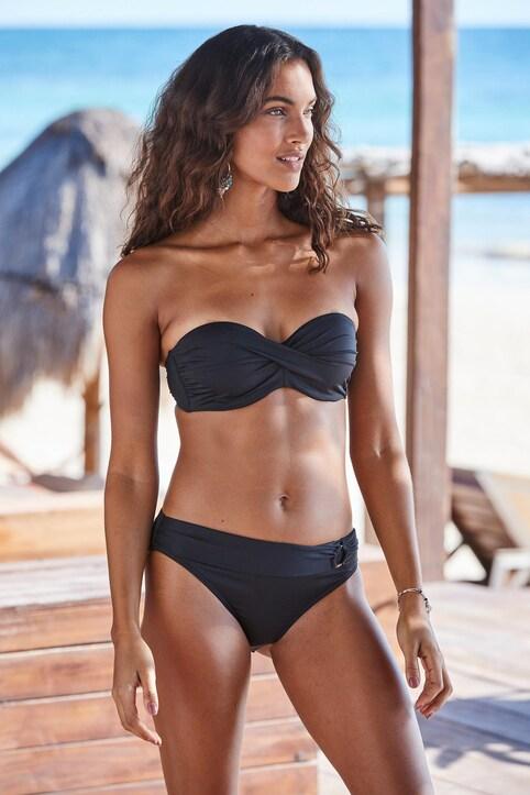 s.Oliver Bügel-Bandeau-Bikini-Top - schwarz