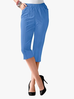Capri-legging - koningsblauw