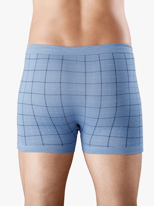 ESGE Krátké kalhoty - světlemodrá-potisk
