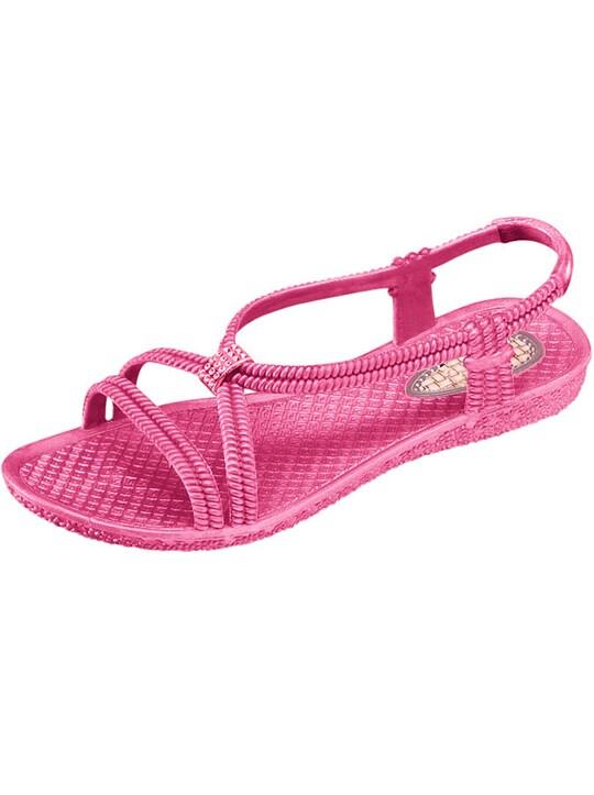 Badesandale - pink