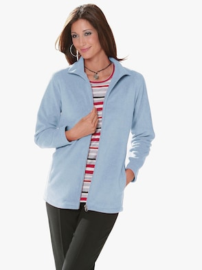 Fleece-Jacke - bleu