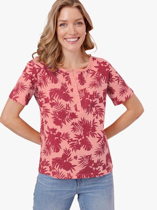 Shirt - flamingo bedrukt