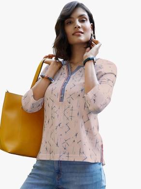 Shirt - poeder gedessineerd