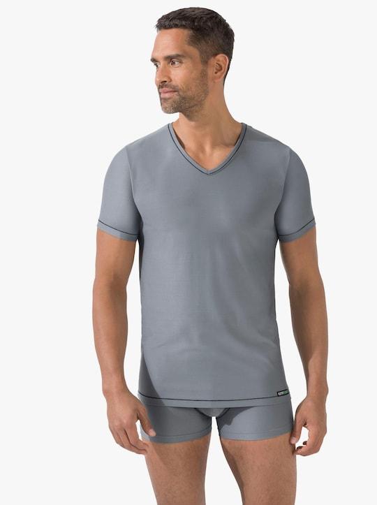 Kumpf Shirt - grau