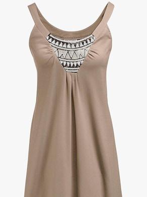 Sommerkleid - taupe