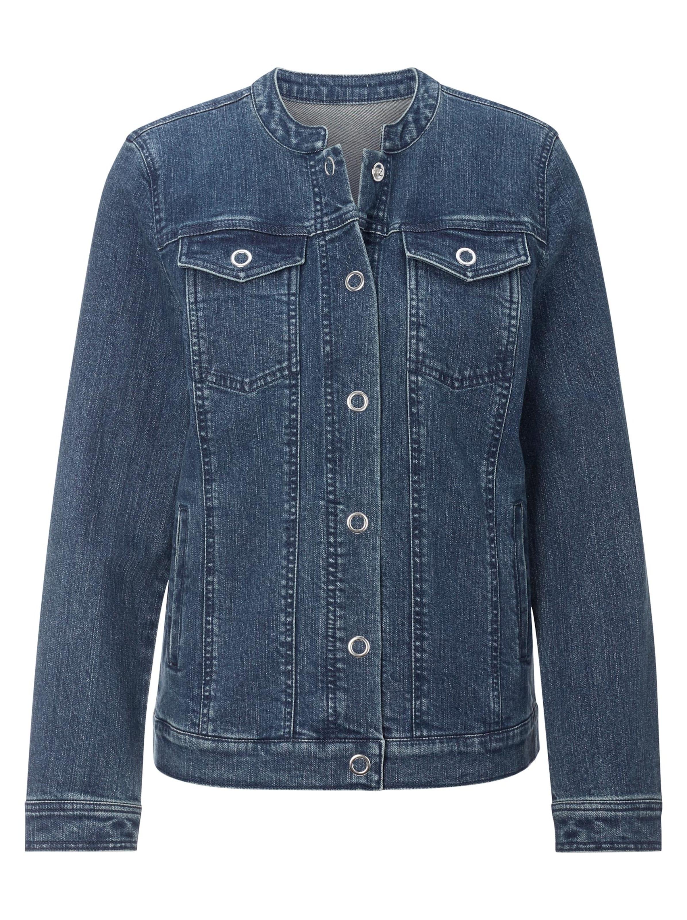 witt weiden -  Damen Jeans-Jacke blue-stone-washed