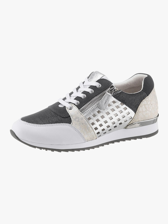 Caprice Sneaker - weiß-schwarz