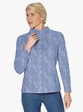 Shirt - bleu-bedruckt
