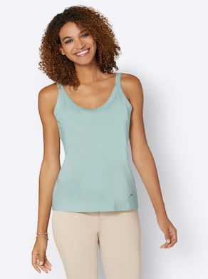Collection L Shirttop - kalkmint