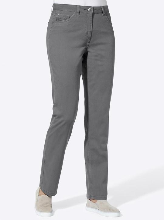 Collection L Jeans - grau
