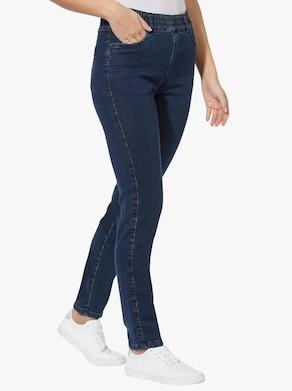 Jeans - dark-blue