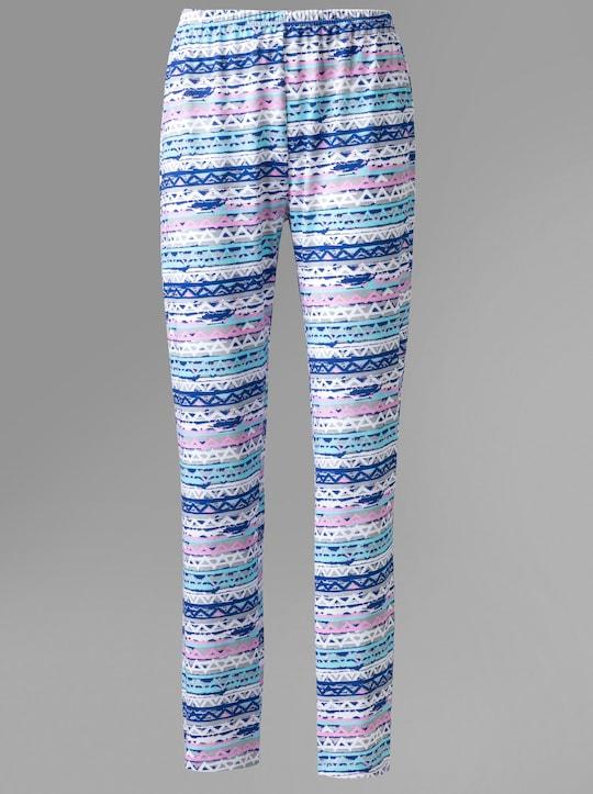 Schlafanzug-Hose - Streifen