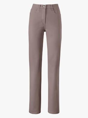 Jeans - taupe/denim