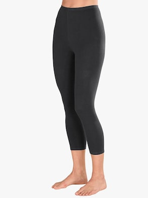 Leggings 3/4-lang - schwarz + anthrazit