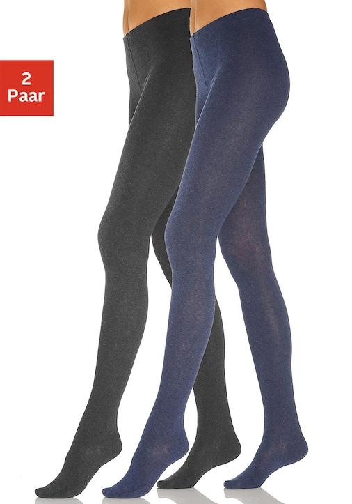 Rogo panty - jeans/zwart