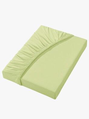 Spannbetttuch - lindgrün