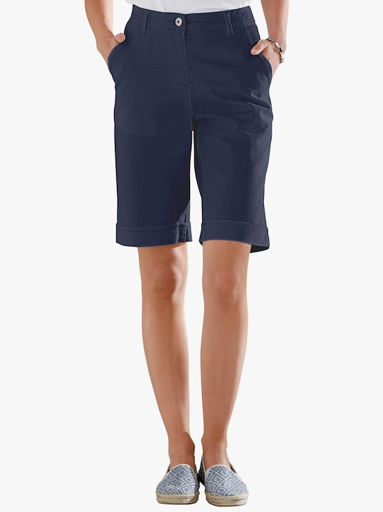Jeansbermuda - marine