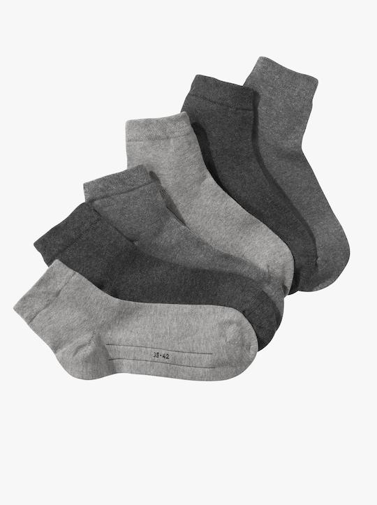 Camano Nízké ponožky - šedá