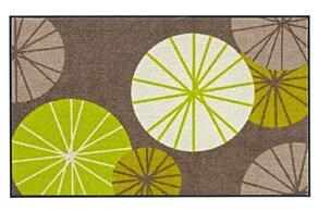 heine home Fußmatte - braun-grün