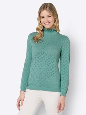 Pullover - salbei