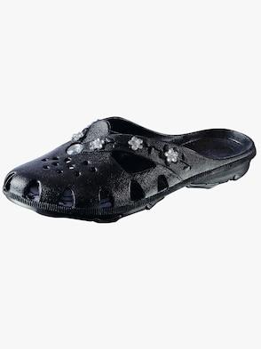 Ultralätta slip in-skor - svart