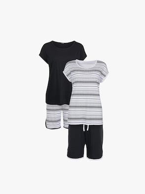 Shortys - schwarz + weiß