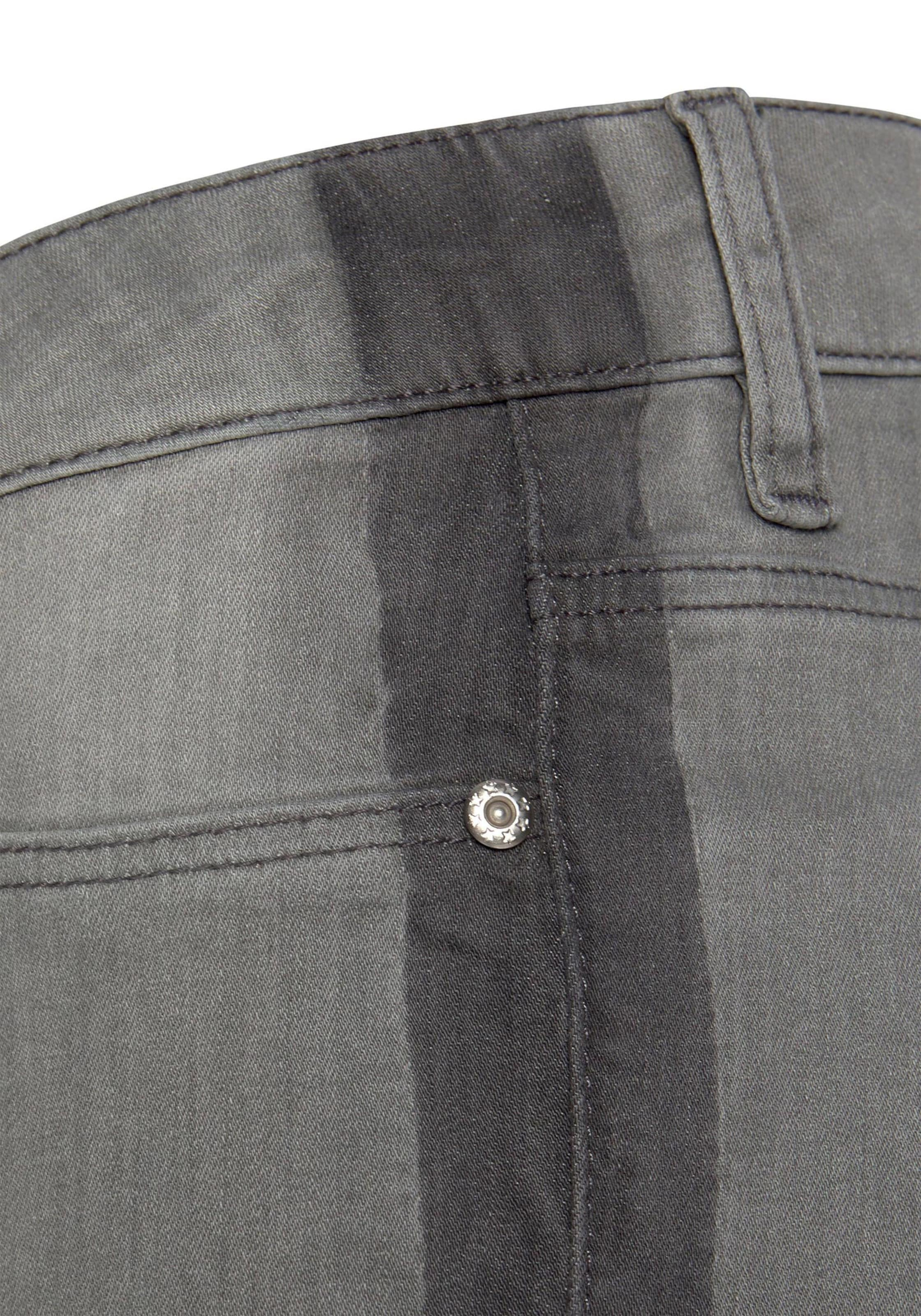 buffalo - Witt Weiden Damen Skinny-fit-Jeans grey-washed
