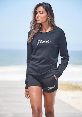 Bench. Sweatshirt - schwarz