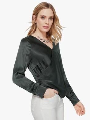 Bluse - tannengrün