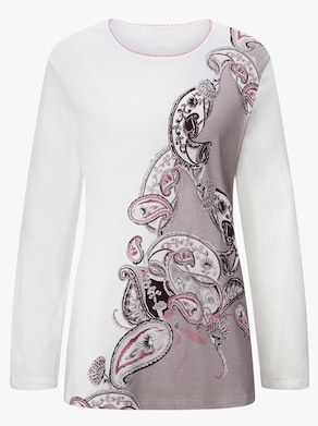 Cybele Schlafanzug - taupe-ecru