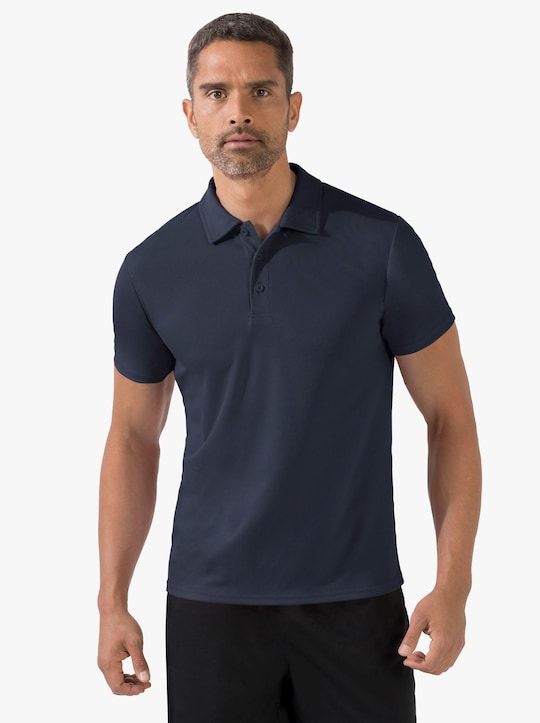 Fruit of the Loom Herren-Poloshirt - marine