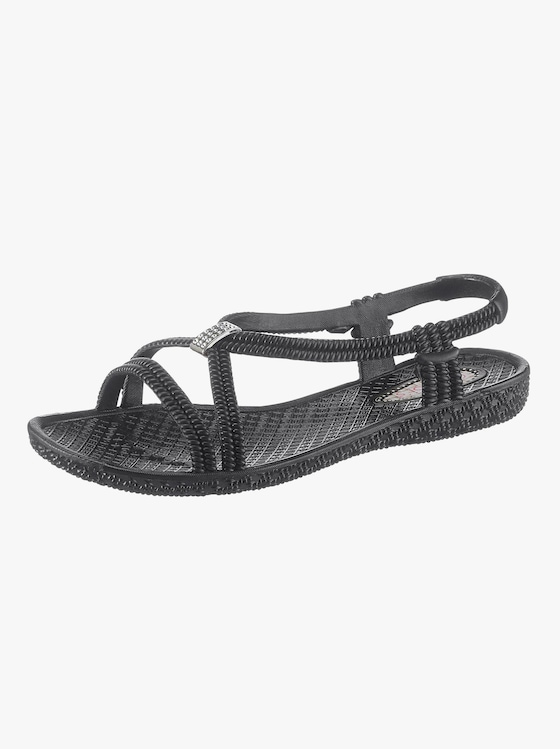 Siebi´s Bade-Sandalette - schwarz