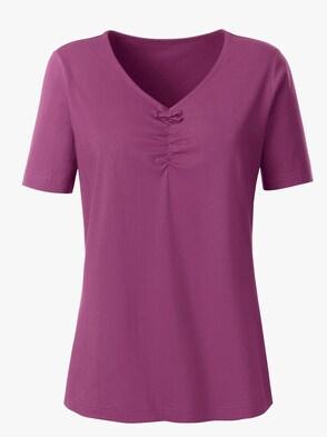 Shirt - brombeer