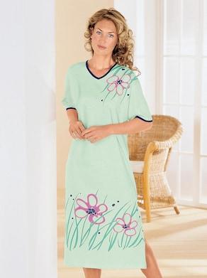 Top Ten Nachthemd - mint-bedruckt