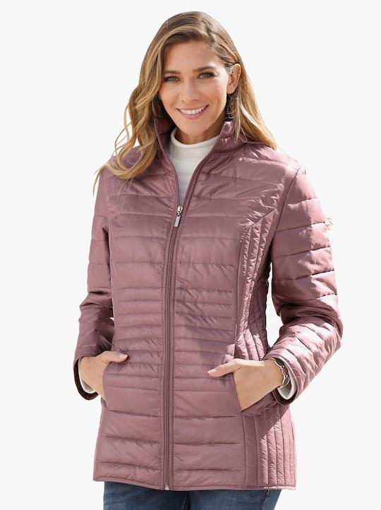 Prošívaná bunda - růžová