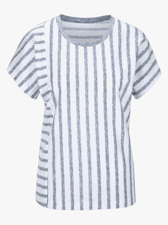 Shirt - marine gestreept