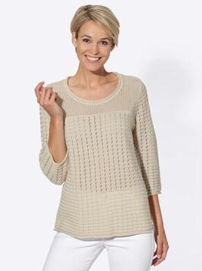Pullover - zand