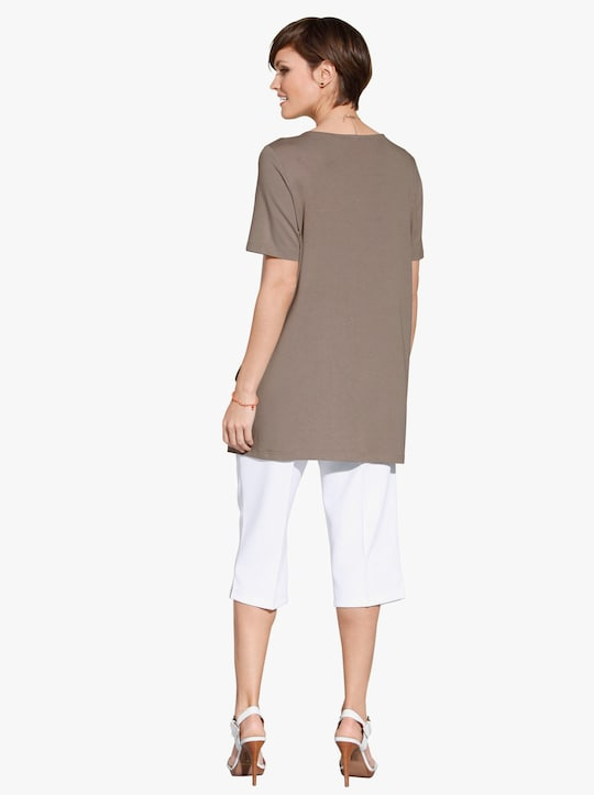 Lang shirt - taupe