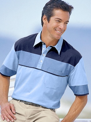 Poloshirt - bleu-marine