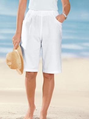 Bermudas - weiß