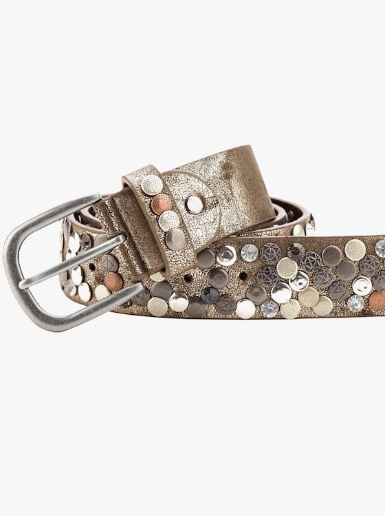 Gürtel - bronzefarben