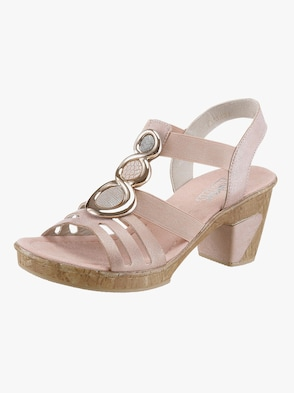 Sandalette - rose metalli