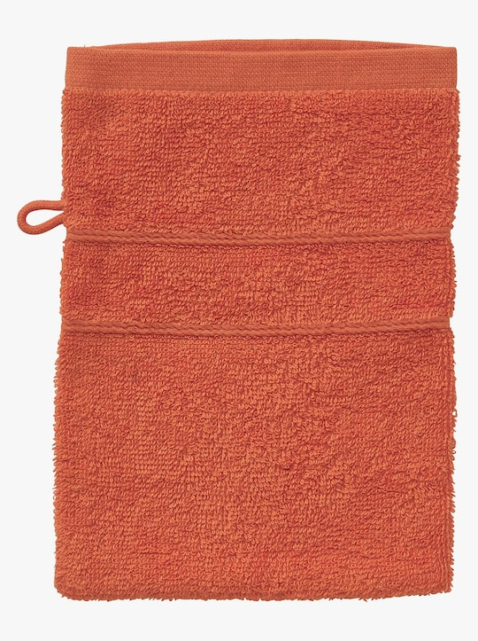wäschepur 4-dlg. voordeelset handdoeken - oranje