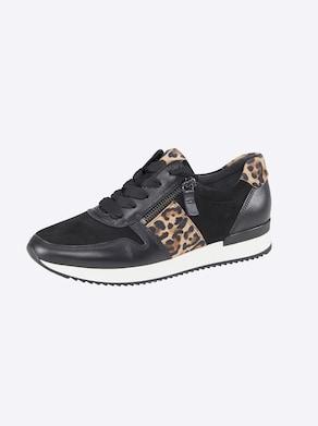 Gabor Sneaker - schwarz-leofarben