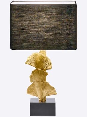 heine home Tischleuchte - schwarz-goldfarben