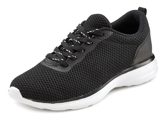 LASCANA Sneaker - zwart