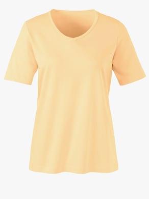 Tričko - vanilková